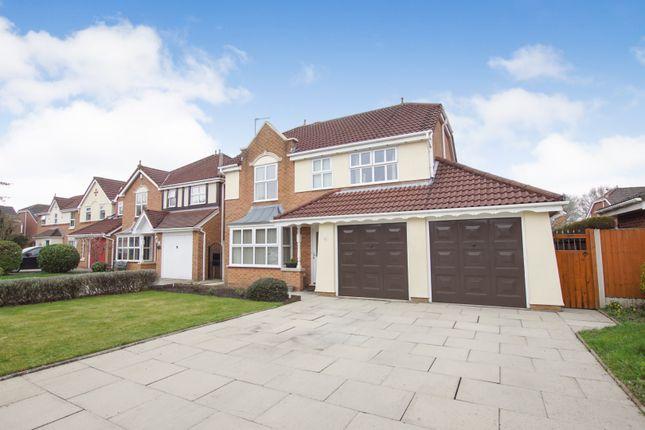 Thumbnail Detached house for sale in Cotterdale Close, Warrington