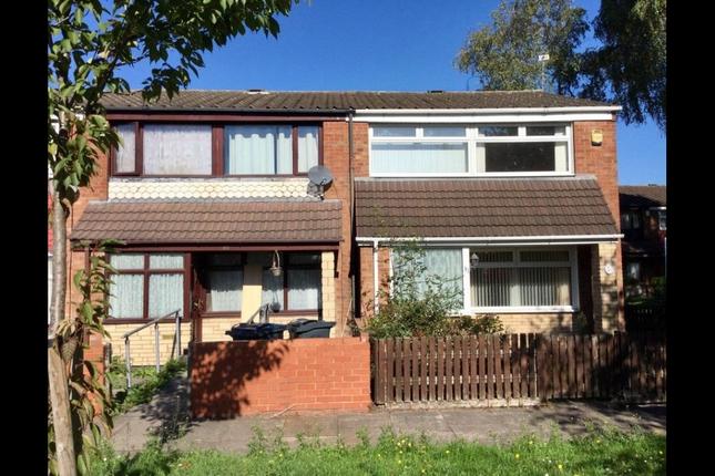 Thumbnail End terrace house to rent in Bloomsbury Walk, Birmingham