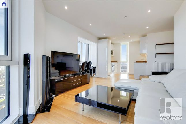 Living Area of Sky View Tower, 12 High Street, London E15