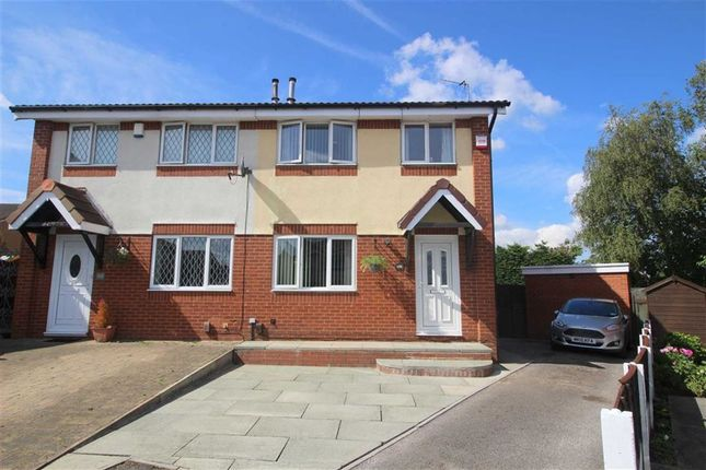 Thumbnail Semi-detached house for sale in Ronaldsway, Ribbleton, Preston