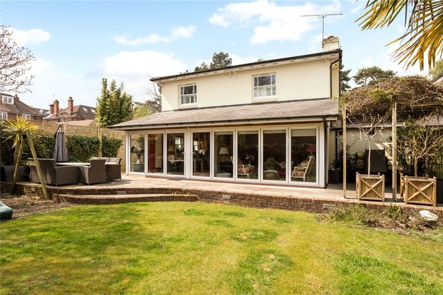 Thumbnail Detached house for sale in St. Cross Road, Winchester, Hampshire