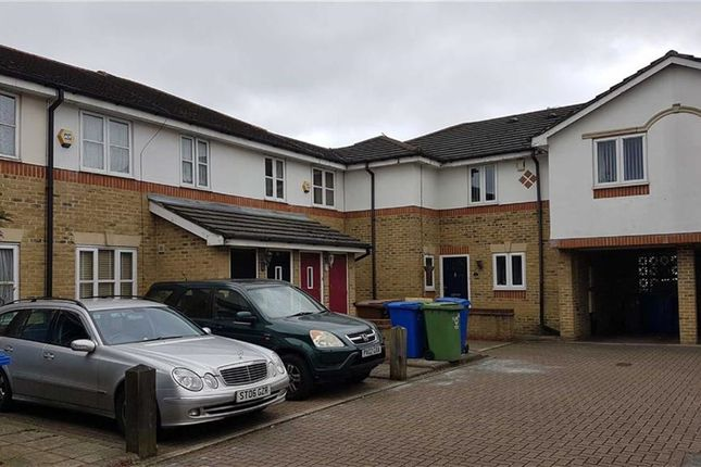 Thumbnail Terraced house for sale in Sherwood Gardens, London