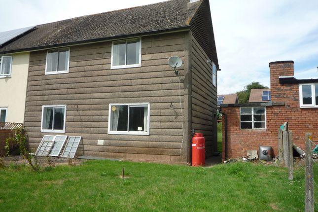 Thumbnail Semi-detached house for sale in Poorscript Lane, Grosmont, Abergavenny