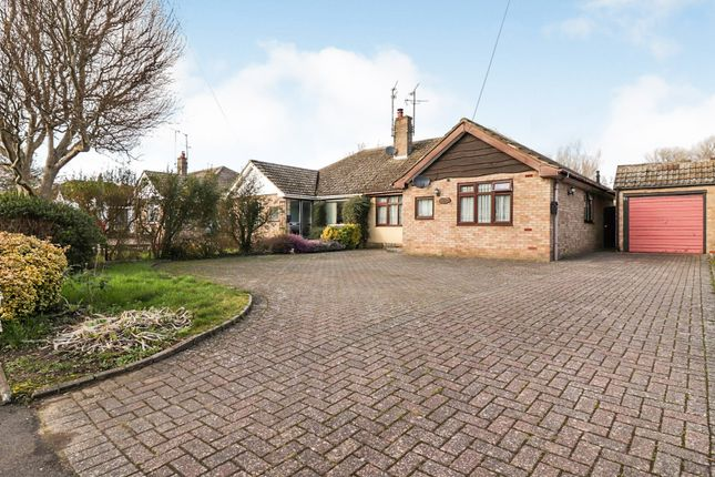 Thumbnail Semi-detached bungalow for sale in Shenley Hill Road, Heath And Reach, Leighton Buzzard