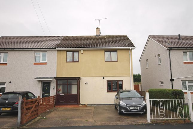 Thumbnail Semi-detached house for sale in Alma Road, North Wingfield, Chesterfield