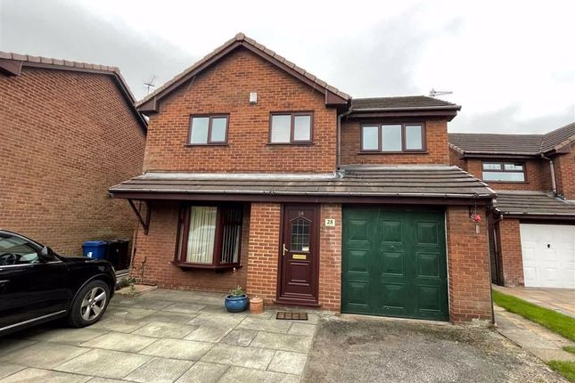 Thumbnail Detached house for sale in Holdenbrook Close, Leigh, Lancashire