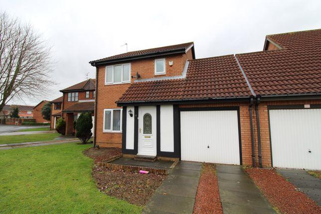 Thumbnail Link-detached house for sale in Silverdale Road, Cramlington