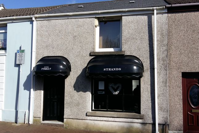 Thumbnail Retail premises for sale in Pottery Street, Llanelli