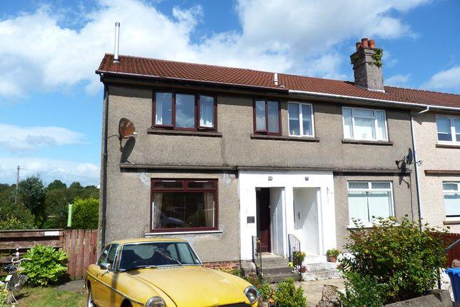 Thumbnail End terrace house for sale in Innes Park Road, Skelmorlie