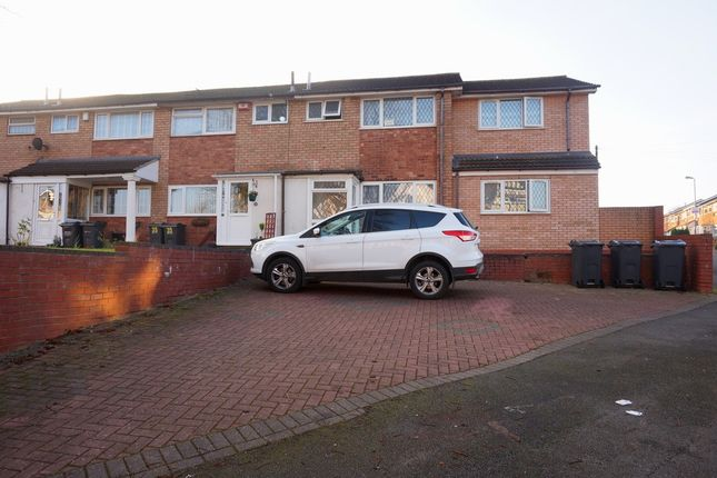 Thumbnail End terrace house for sale in Sandwell Road, Handsworth, Birmingham