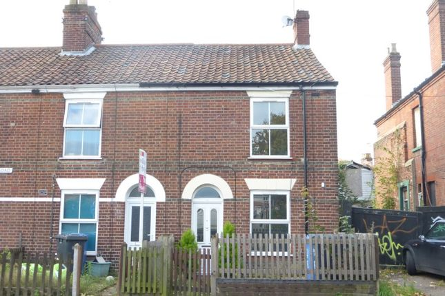 Thumbnail Terraced house for sale in Magpie Road, Norwich, Norfolk