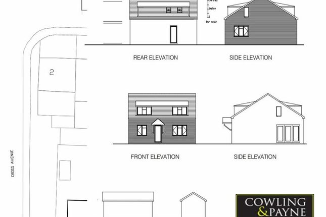 Thumbnail Detached bungalow for sale in Cross Ave, Wickford, Essex