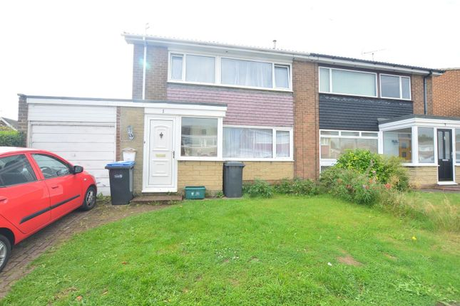 3 bed semi-detached house for sale in Ripon Road, Newton Hall, Durham DH1