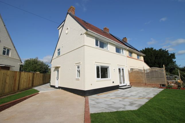 Thumbnail Semi-detached house to rent in Sunhill Avenue, Topsham, Exeter