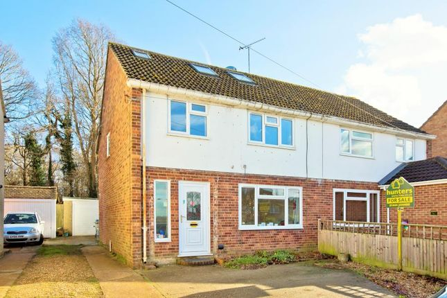 Thumbnail Semi-detached house for sale in Chanctonbury Road, Burgess Hill