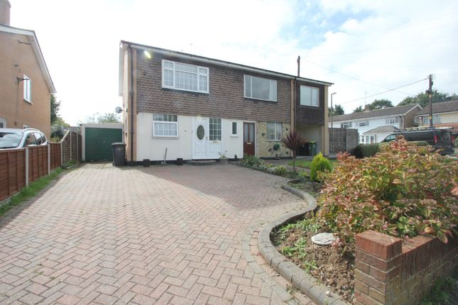 Thumbnail Semi-detached house for sale in Elmwood Avenue, Hockley