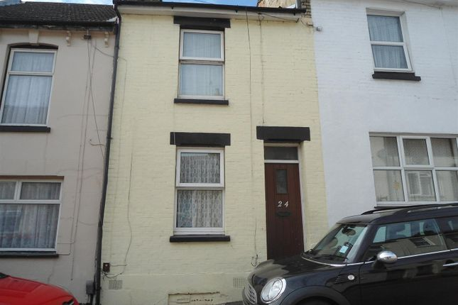 Thumbnail Terraced house to rent in Melbourne Road, Chatham