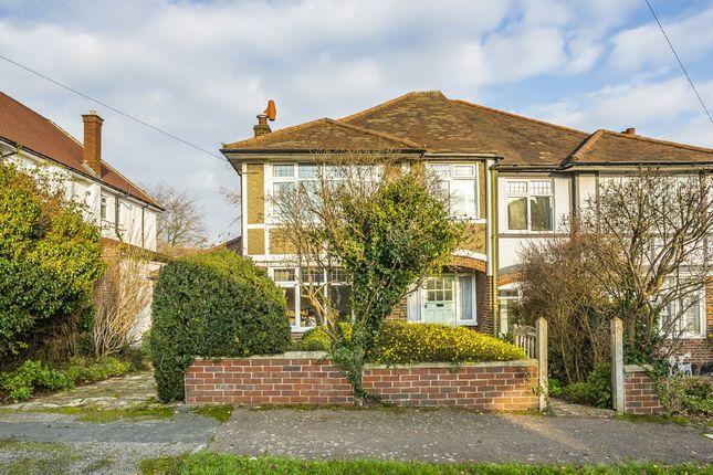 Thumbnail Semi-detached house for sale in Willis Avenue, Sutton, Surrey