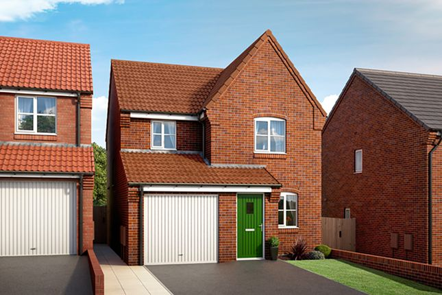 "Thumbnail Property for sale in ""The Fern"" at Mooracre Lane, Bolsover, Chesterfield"