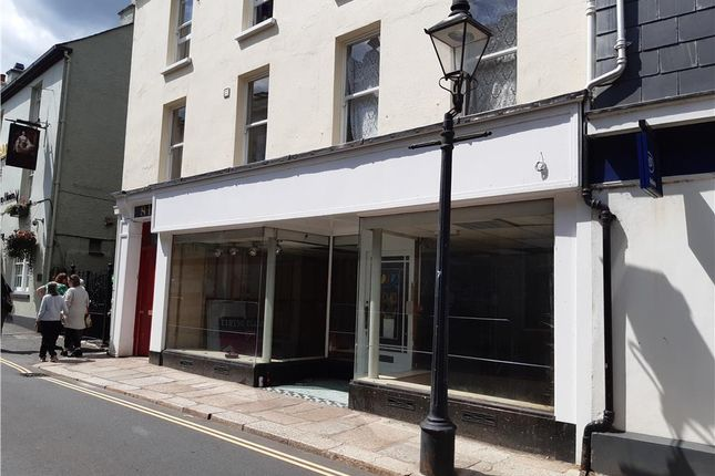 Thumbnail Retail premises to let in 81 West Street, Tavistock, Devon