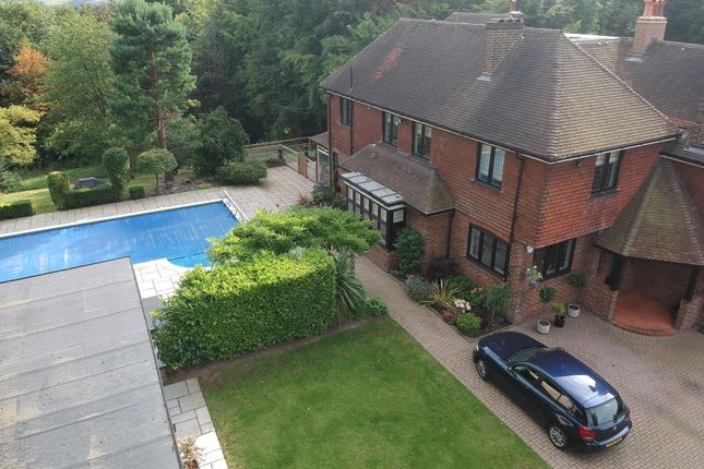 Thumbnail Detached house to rent in Rockshaw Road, Merstham, Redhill