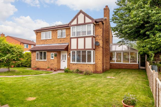 Thumbnail Detached house for sale in Sedgeford Drive, Shrewsbury, Shropshire