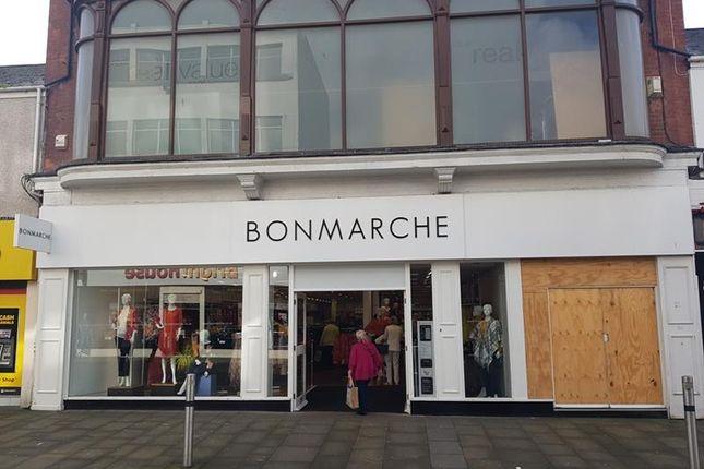 Thumbnail Retail premises for sale in 21, Oxford Street, Swansea