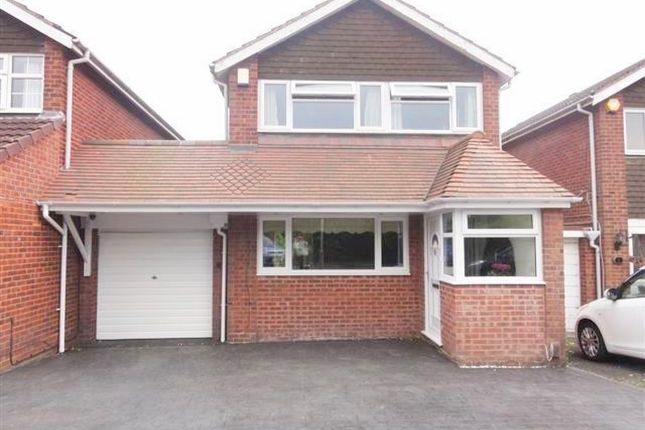 Thumbnail Detached house to rent in Tyrley Close, Compton, Wolverhampton