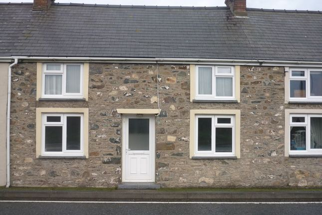 Thumbnail Terraced house to rent in Fishguard