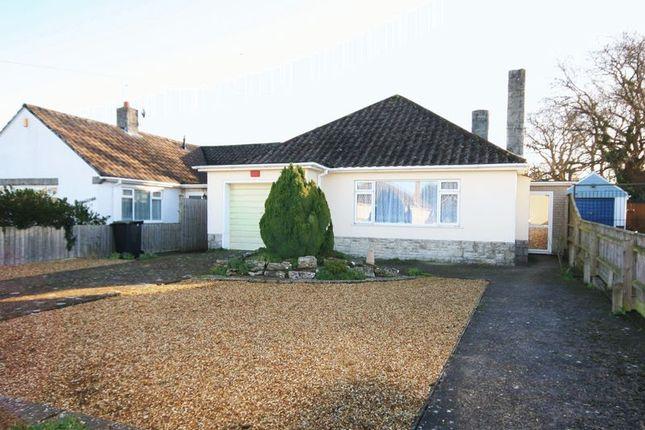 Thumbnail Detached bungalow for sale in Wilton Close, Christchurch
