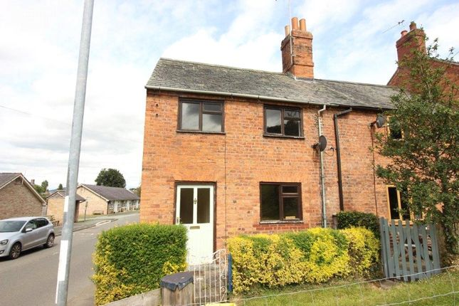 Thumbnail End terrace house for sale in Chirbury Road, Montgomery, Powys