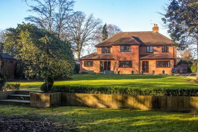 Thumbnail Detached house for sale in Oak End Way, Woodham, Addlestone