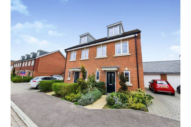 3 bed semi-detached house for sale in Hangar Drive, Tangmere, Chichester PO20
