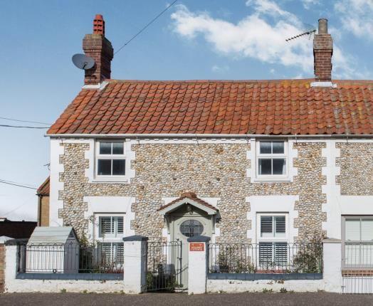 Thumbnail Semi-detached house for sale in Brancaster Staithe, King's Lynn, Norfolk