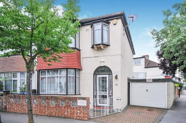 Thumbnail 3 bed end terrace house for sale in Dovercourt Avenue, Thornton Heath