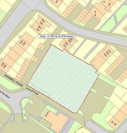 Thumbnail Land for sale in Denmark Opening, Sprowston Road, Norwich