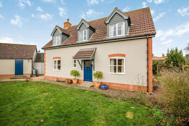 Thumbnail Detached house for sale in Little Ellingham, Attleborough, Norfolk