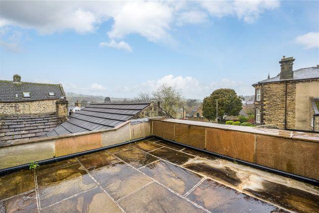 Roof Terrace of High Street, Pateley Bridge, Harrogate, North Yorkshire HG3