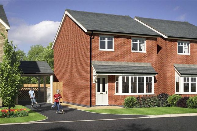 Thumbnail Detached house for sale in Plot 11, Heritage Green, Forden, Welshpool, Powys