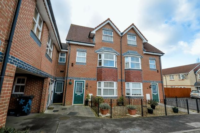 Thumbnail Terraced house for sale in St. Austell Way, Swindon