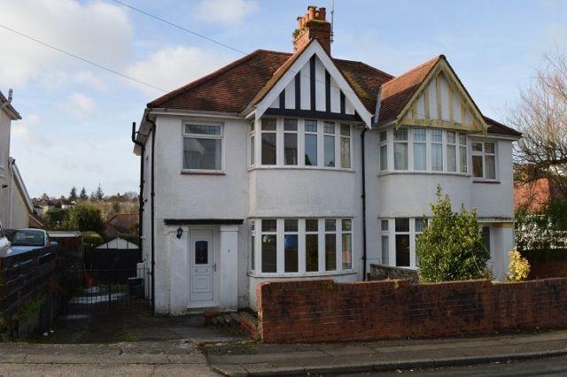 Thumbnail Semi-detached house to rent in Raglan Road, Sketty, Swansea