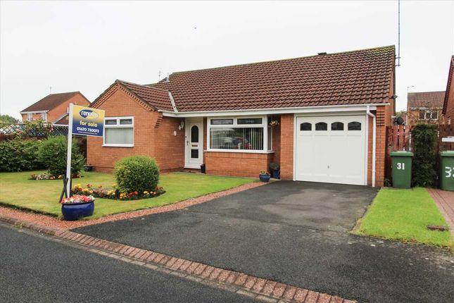 Thumbnail Bungalow for sale in Dunsdale Drive, Eastfield Vale, Cramlington