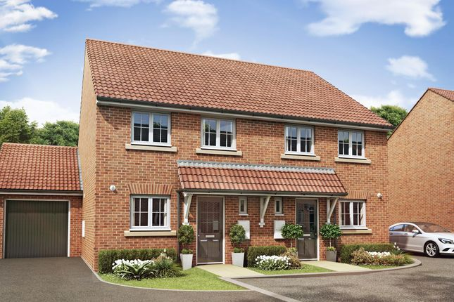 """Thumbnail Semi-detached house for sale in """"Barwick"""" at Summerleaze Crescent, Taunton"""