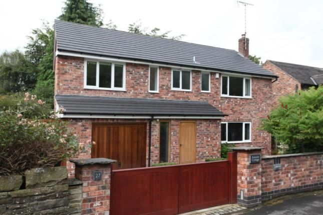 Thumbnail Detached house for sale in Bollin Grove, Prestbury, Macclesfield, Cheshire