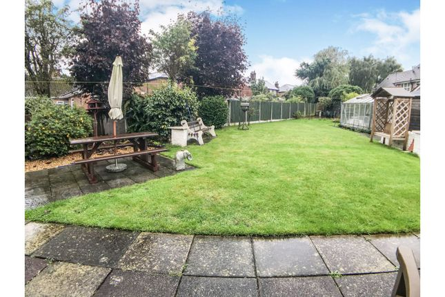 Rear Garden of Moss Lane, Sandbach CW11