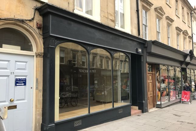 Thumbnail Retail premises to let in 25 Milsom Street, Bath, Somerset