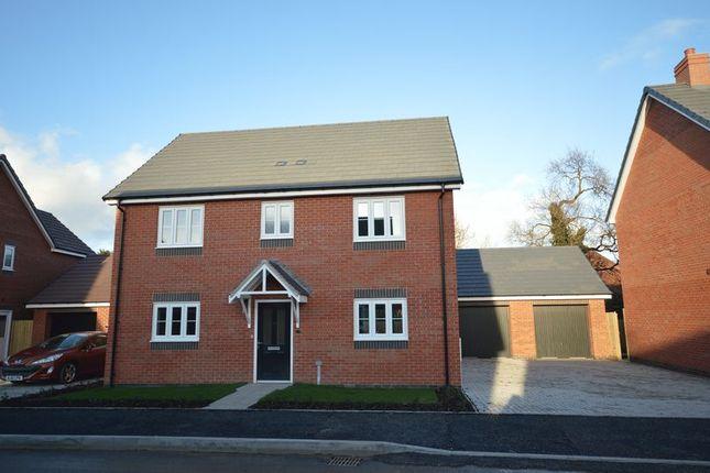 Thumbnail Detached house for sale in Shawbury, Nr Shrewsbury, Shropshire.