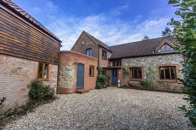 Thumbnail Detached house for sale in The Green, Stalham, Norwich