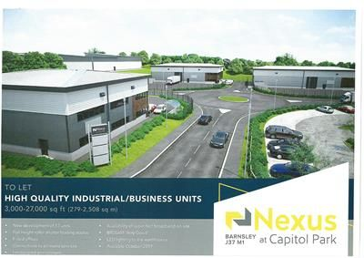 Thumbnail Light industrial to let in Nexus At Capitol Park, Capitol Court, Dodworth, Barnsley, South Yorkshire