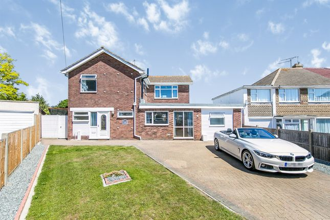 Thumbnail Detached house for sale in Princess Anne Close, Clacton-On-Sea